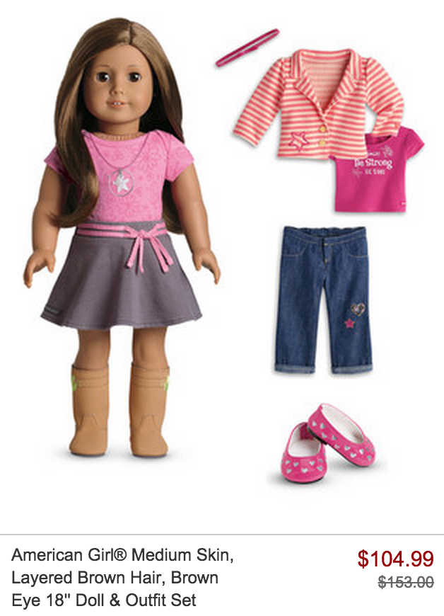 american girl doll sale on zulily mission to save. Black Bedroom Furniture Sets. Home Design Ideas