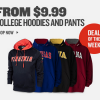 $9.99 College Hoodies and Sweats at Finish Line