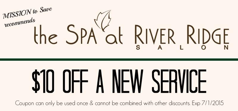 Spa at River Ridge coupon