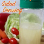 Sweet Vinegar Salad Dressing Recipe