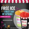 FREE Rita's Italian Ice on First Day of Spring, Sunday 3/20