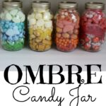 Make these adorable DIY Ombre Candy Jar Gifts for a teacher, thank you, friendship or just because. You can also find Free printable tags to use on your mason jar gifts.