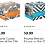Possible FREE Purina Purpose Cat Litter at Target
