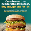Central Ohio McDonald's Tax Day Deal