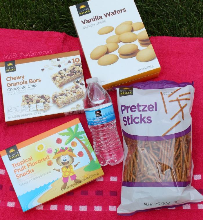 Dollar General Summer Snack Supplies