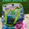 Mom's Poolside Summer Survival Kit