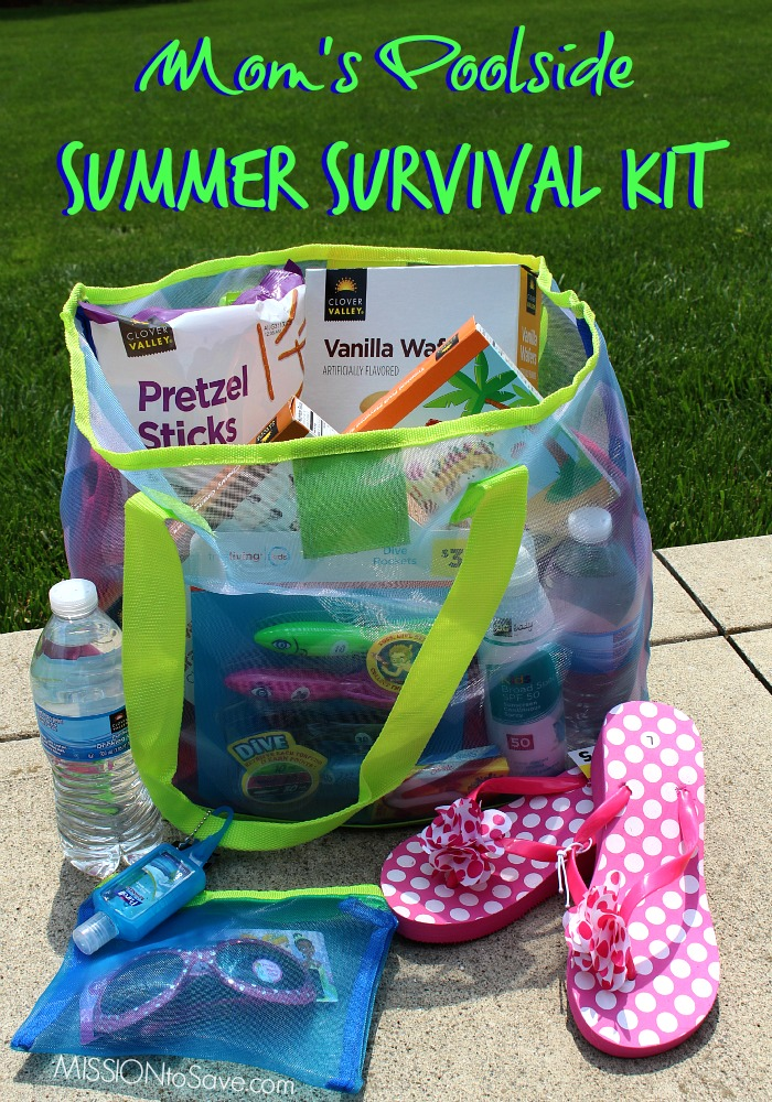 Mom's Poolside Summer Survival Kit from Dollar General