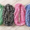 Fun Art Deco Inspired Geometric Infinity Scarves – $7.99 Shipped!