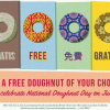 Krispy Kreme National Doughnut Day Freebie on June 6