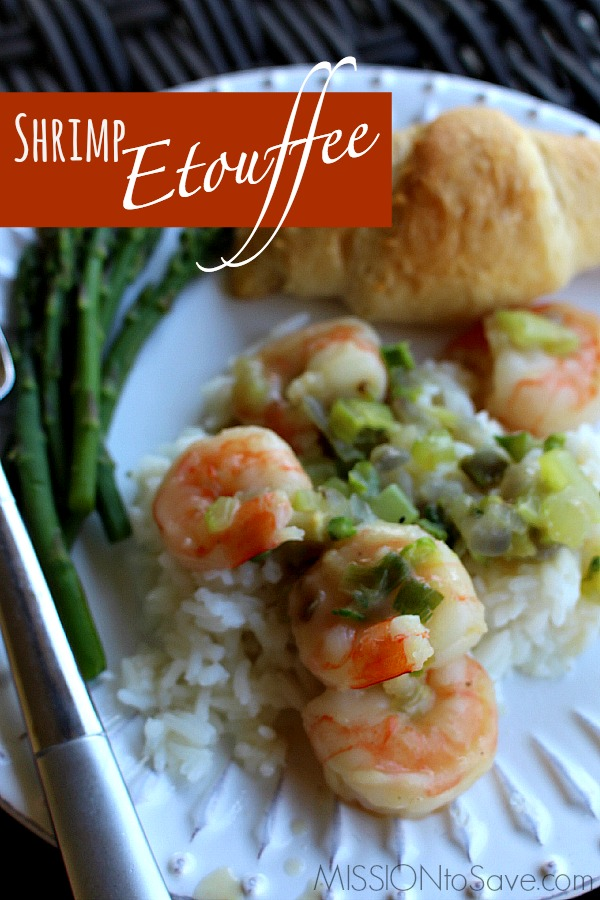 Simple Shrimp Etouffee Recipe Classic Creole Mission To Save