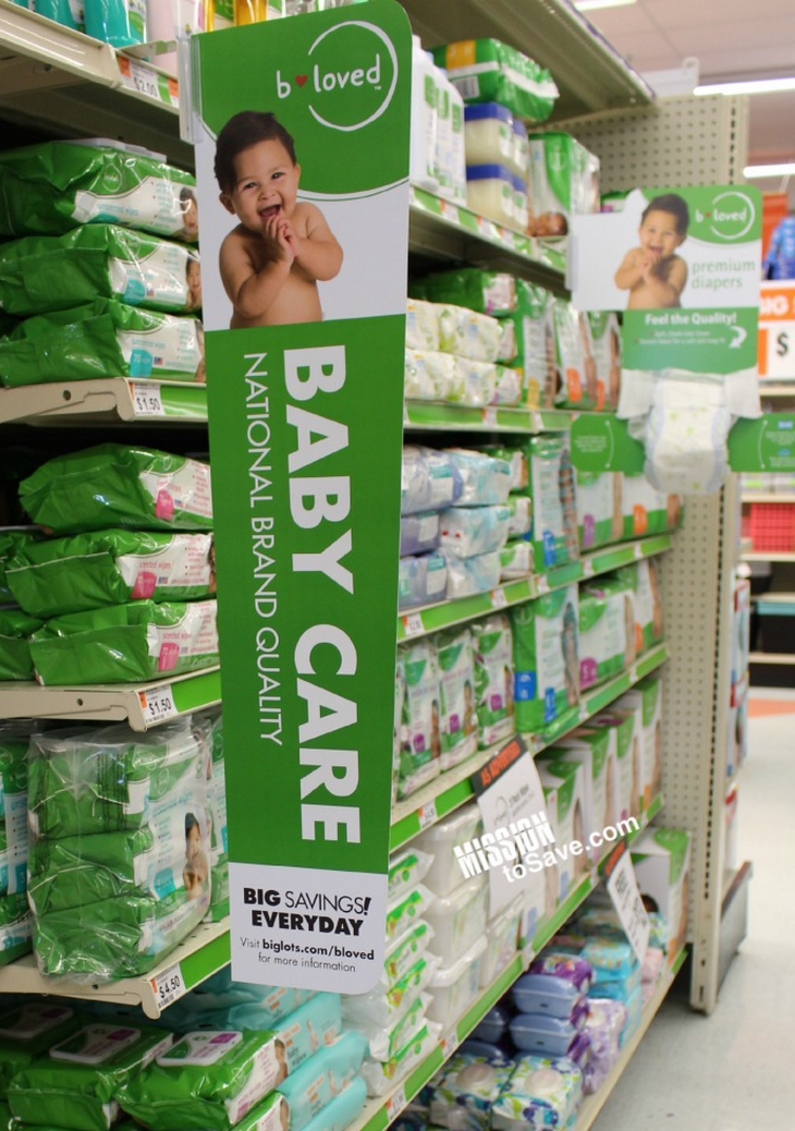 b-loved diapers at big lots