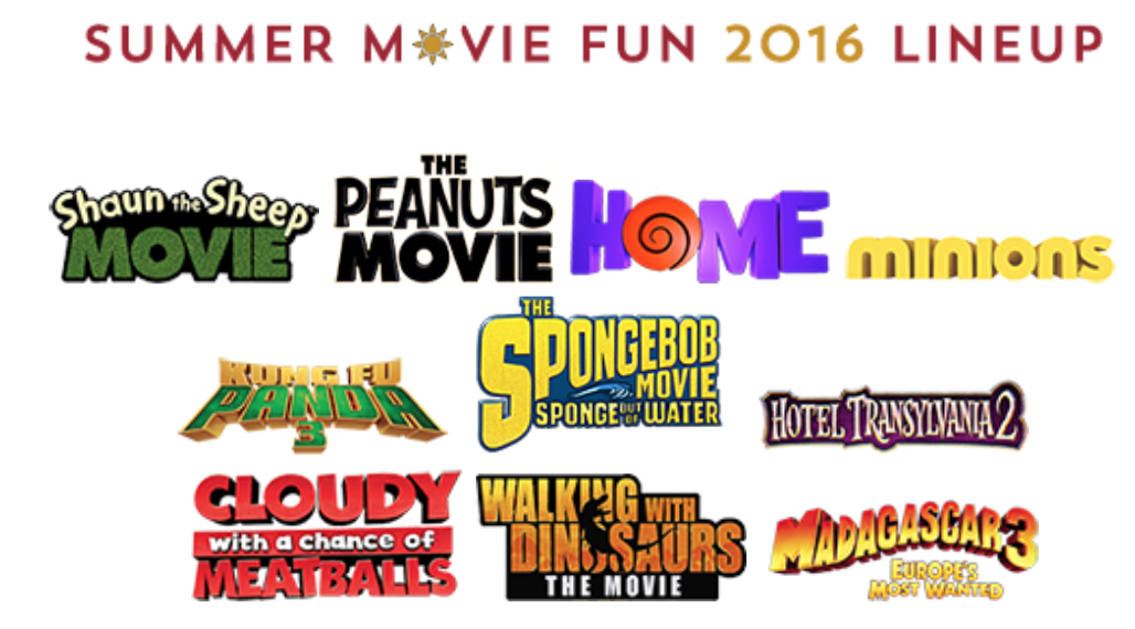 summer movie programs