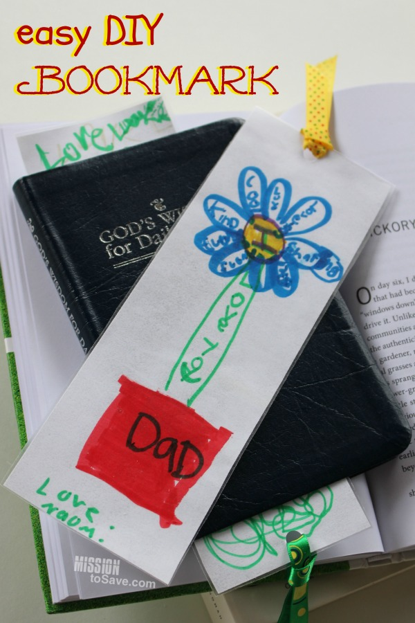 Easy diy bookmark sweet gift for any occasion mother 39 s for Easy bookmark ideas