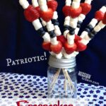 Patriotic Firecracker Fruit Kabobs Recipe