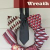 Repurposed Neckties Wreath | Perfect DIY Project for Father's Day!