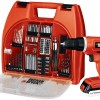 Black & Decker Drill Kit, Perfect for Father's Day Gift.