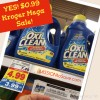 $0.99 OxiClean on Kroger Mega Sale