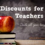 Discounts for Teacers. Deals to help you save all your long .