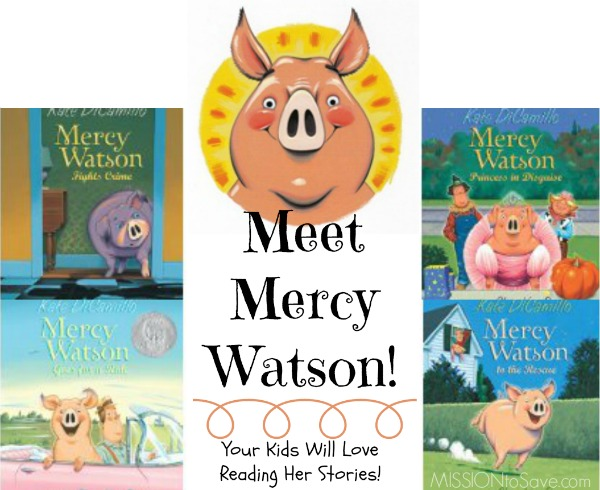 Your Kids will love the Mercy Watson Chapter Books for early chapter boo readers