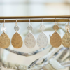 On trend metallic accessories sale!