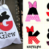 Right now you can score a personalized Disney Mickey or Minnie drawstring bag for just $11 shipped!