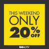 Big Lots 20% Off Sale, Friends and Family Weekend Coupon! (10/3-10/4/15)