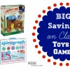 BIG Savings on CLassic Games and Toys