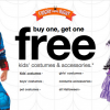 BOGO Halloween Costumes Sale at Target