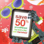 Target Cartwheel Offer- 50% Off Different Toy Every Day Until Christmas!