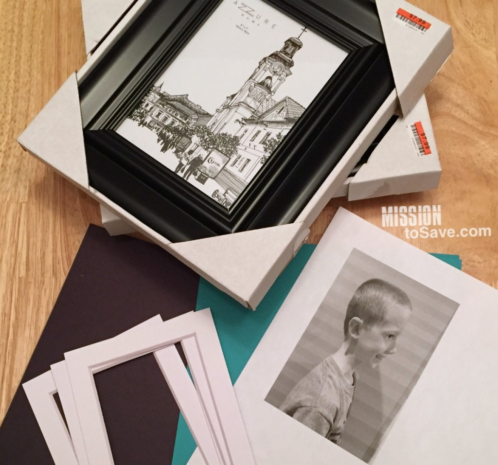 DIY Silhouette Profile Pictures
