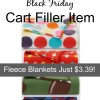 Kohl's Black Friday Cart Filler Item: Fleece Blankets Just $3.39