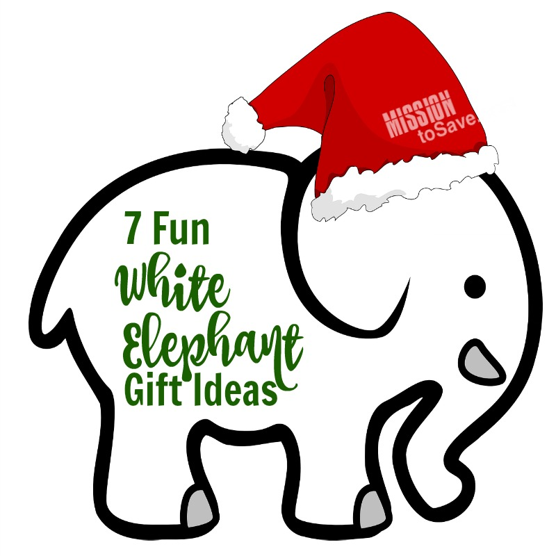 7 Fun White Elephant Gift Ideas for your holiday get together. These gifts are sure to bring the laughs and they might actually want to keep them!