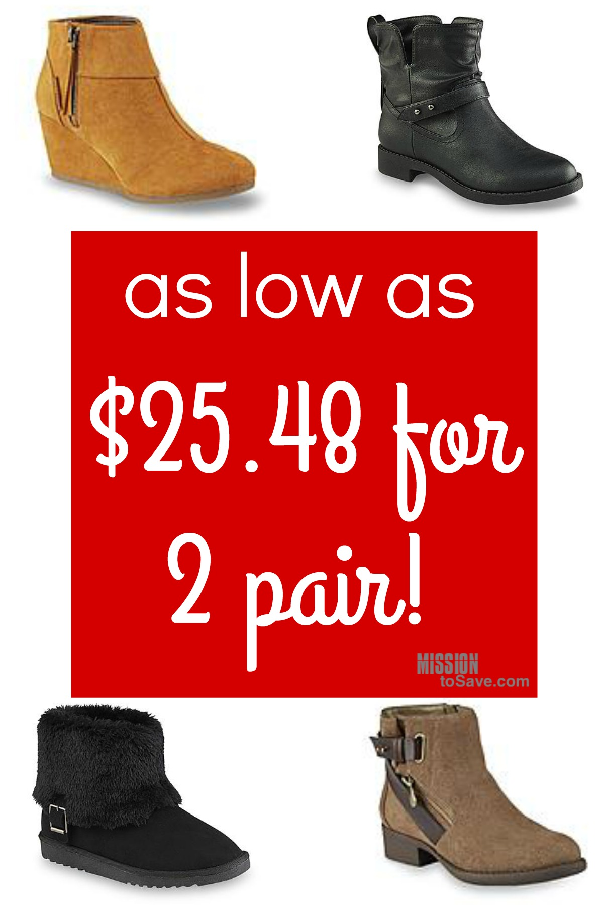 Kmart BOGO f Shoes Sale As Low as $25 48 for 2