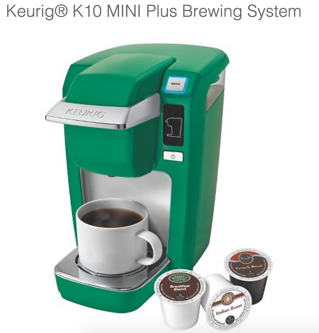 Get fast, free shipping with Amazon PrimeMarkdowns· Deals in Home & Kitchen· Shop Best Sellers· Fast ShippingBrands: Keurig, Cuisinart, Mr. Coffee, Hamilton Beach, Starbucks, NIFTY and more.
