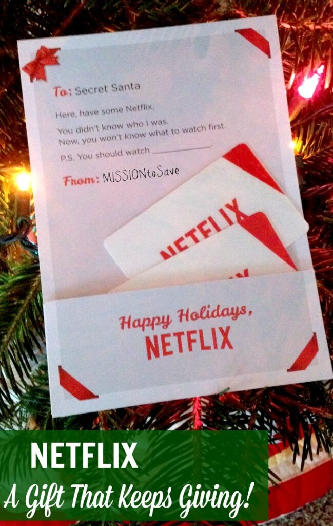 Netflix Gift that Keeps Giving