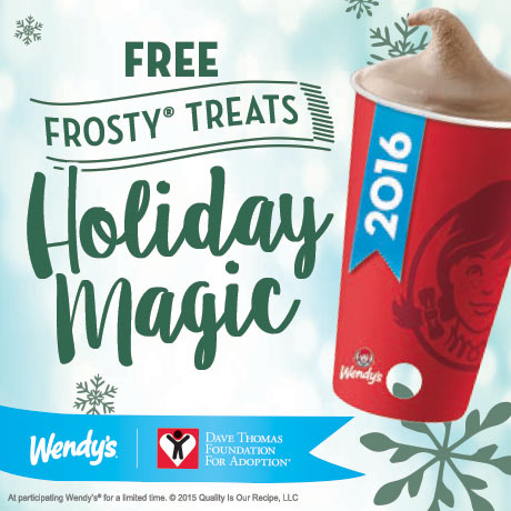 Wendy's Frosty Key Tag