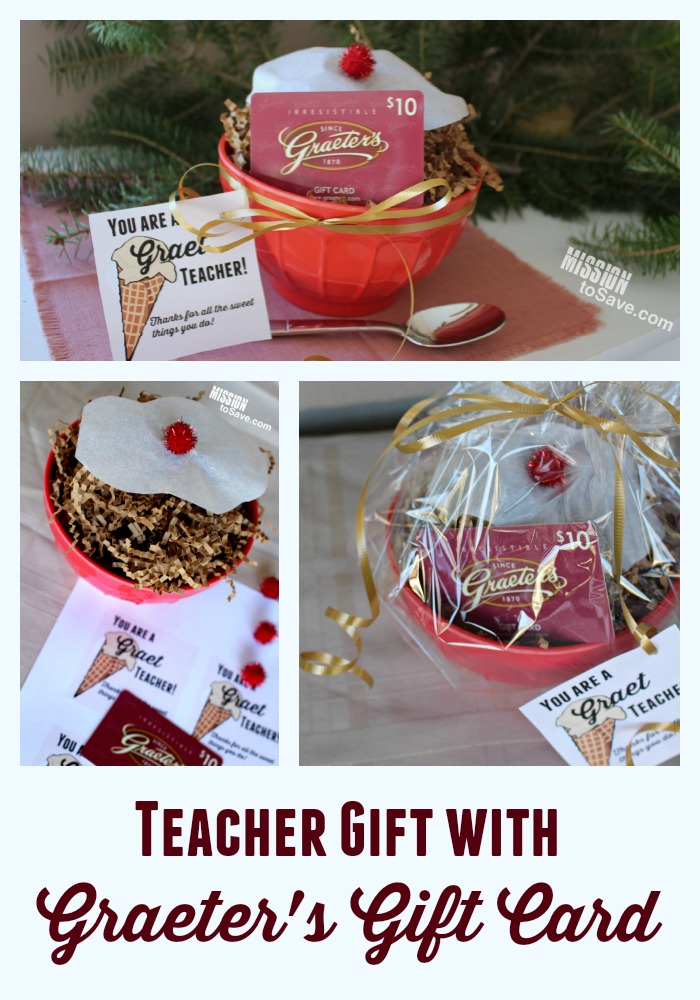 Teacher Gift Idea for Graeter\'s Fan: You Are a \