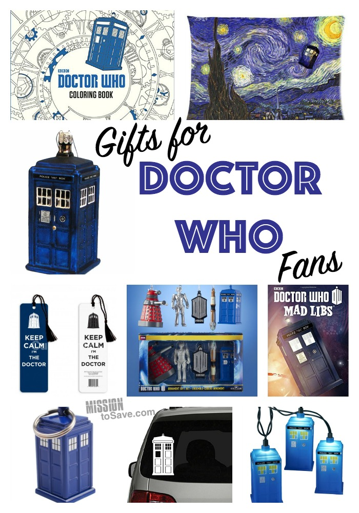 Gifts For The Doctor Who Fan Mission To Save