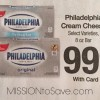 phily cream cheese at kroger