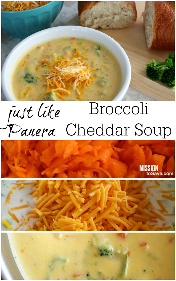 how to make broccoli and cheddar soup