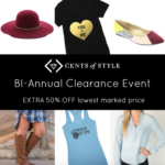 HUGE Clearance Sale on Cents of Style Fashion Friday!
