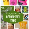 Clever Projects with Repurposed Items – Roundup of Recycling Projects