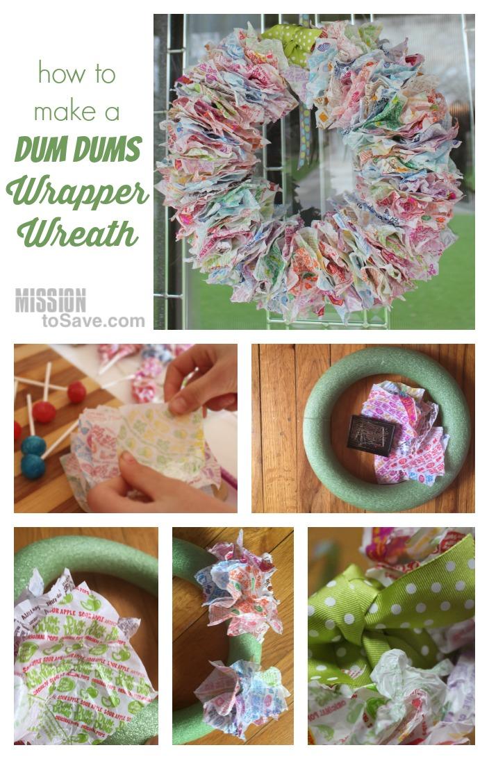 how to make a sweet wreath