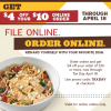 Noodles & Company Tax Day Deals