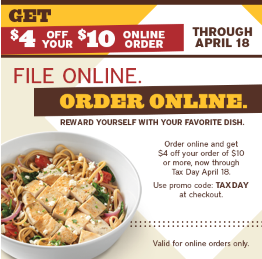 Noodles And Company Printable Coupons : My Blog