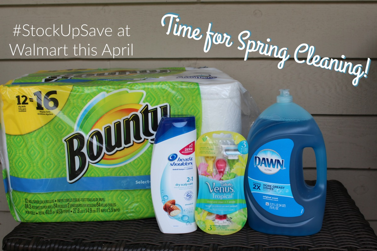 Time for Spring Cleaning #StockUpSave