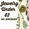 Trendy jewelry Under $3 on amazon