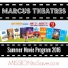 Marcus Theaters Summer Movie Program for Families