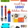 Must Buy LEGO Foodie Items for the LEGO Lovers' Kitchen