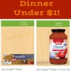 Giant Eagle Ibotta Offers Make for Almost Free Spaghetti Dinner!